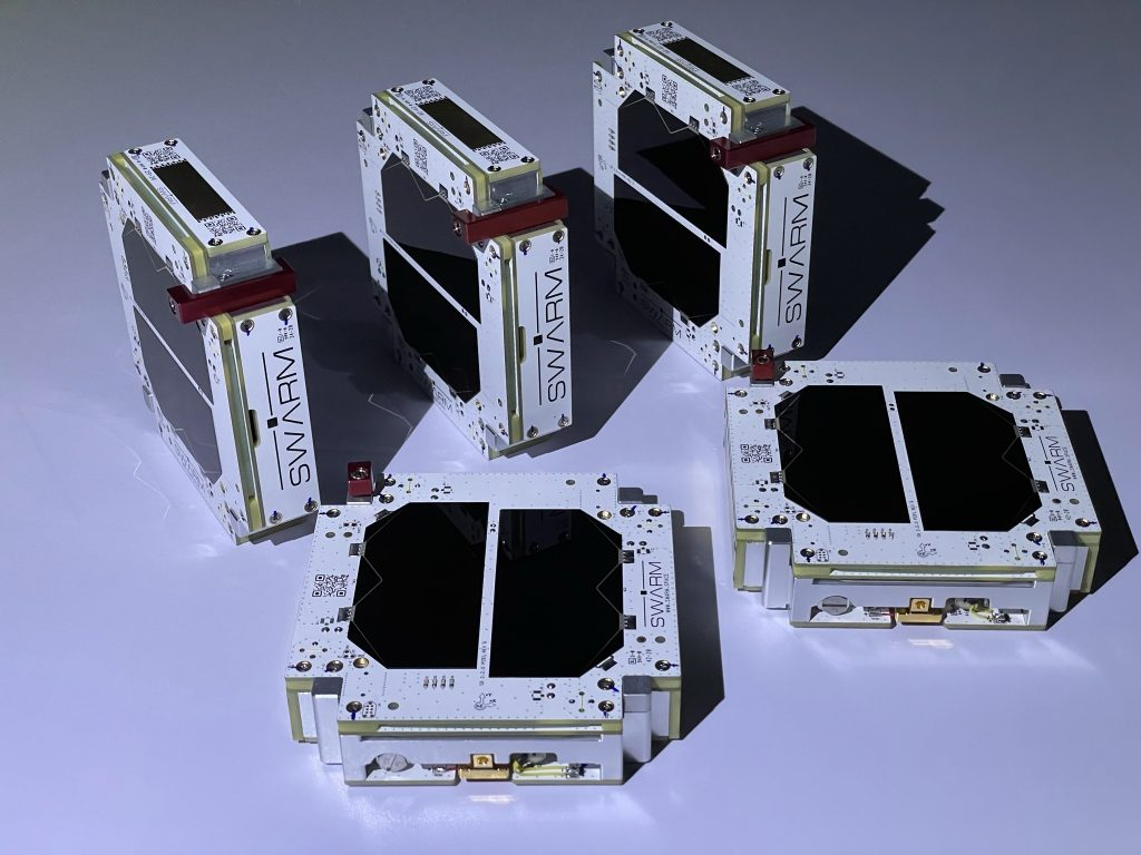SpaceBEE satellites, of which some are flying on the Transporter-2 mission